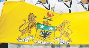 [photo of Gosford City flag]