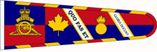 [Royal Canadian Artillery standard]