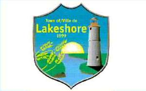 [flag of Lakeshore, Ontario]