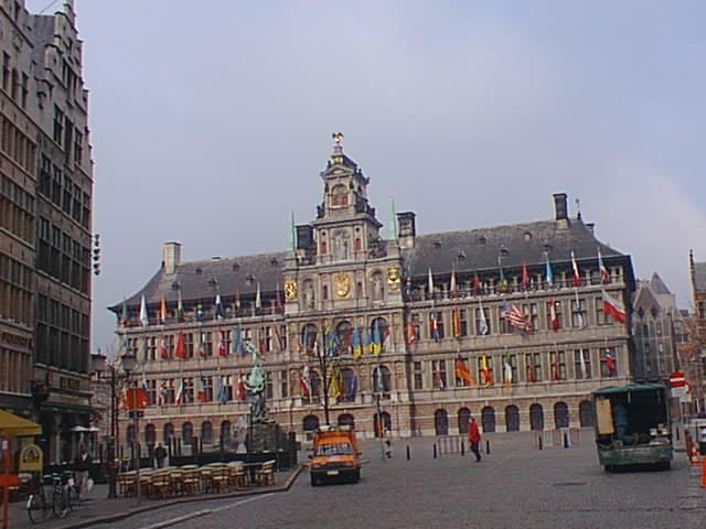 [Town Hall at Antwerpen, Belgium]