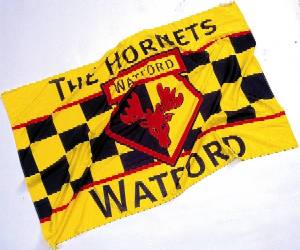 [Flag of Watford FC]