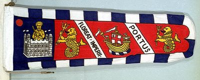 [Port of London Authority, Chairman's pennant]