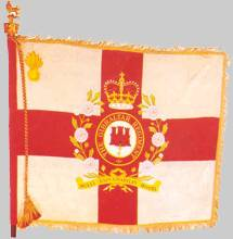 [Regimental Colour, Royal Gibraltar Regiment (Gibraltar, United Kingdom)]