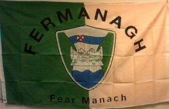 [Fermanagh GAA team flag]