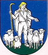[Nevídzany coat of arms]