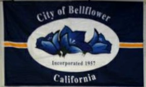 [flag of Bellflower, California]