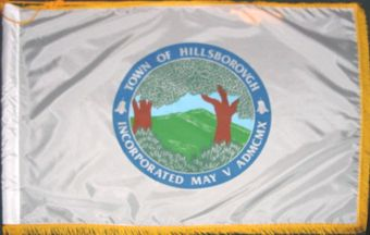 [flag of Hillsborough, California]