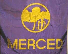 [former flag of Merced, California]