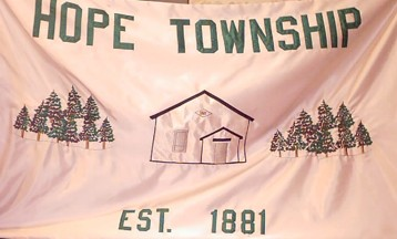 [Flag of the Hope Township, Michigan]