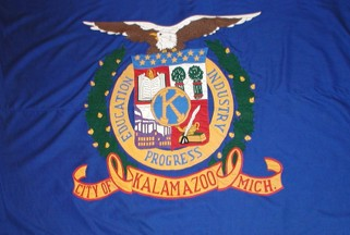 [Flag of Kalamazoo, Michigan]