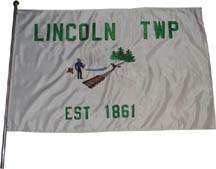 [Flag of the Lincoln Township, Michigan]