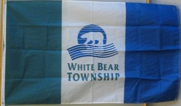 [Flag of White Bear Township, Minnesota]