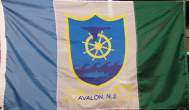 [Flag of Avalon, New Jersey]