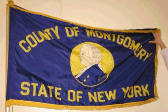 [Flag of Montgomery County, New York]