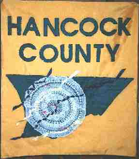 [Flag of Hancock County]