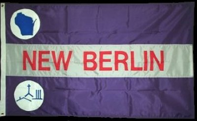[New Berlin, Wisconsin flag]