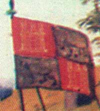 [flags at the Battle of Najera]